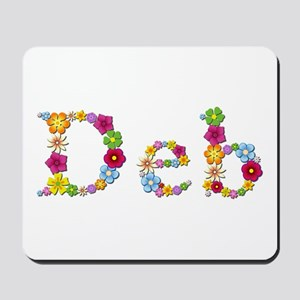 Deb Bright Flowers Mousepad