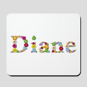 Diane Bright Flowers Mousepad