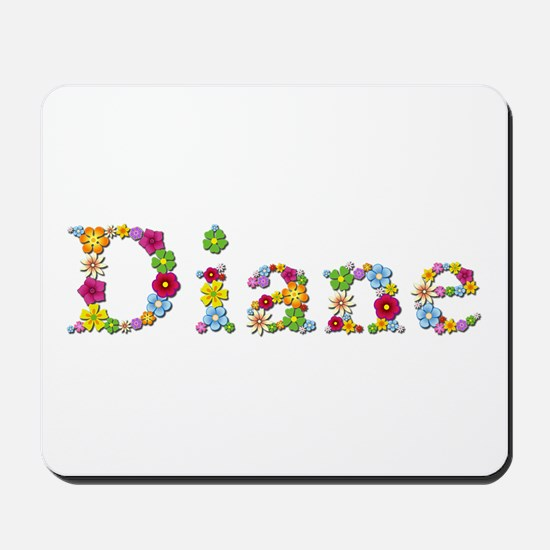 Diane Bright Flowers Mousepad