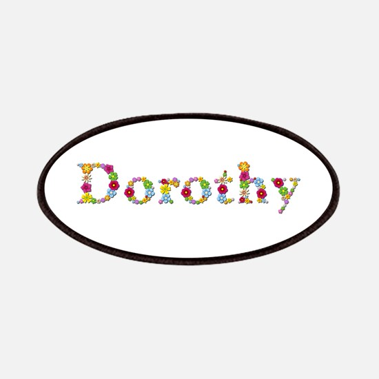 Dorothy Bright Flowers Patch