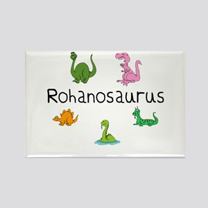 Rohanosaurus Rectangle Magnet