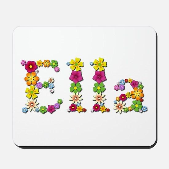 Ella Bright Flowers Mousepad