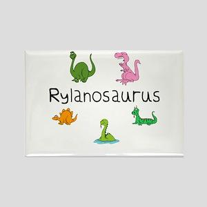 Rylanosaurus Rectangle Magnet