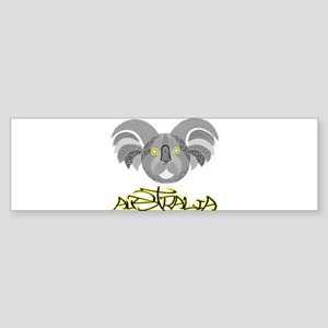 Australian Aboriginal Art - Souveni Bumper Sticker