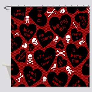 Be My Ex Shower Curtain