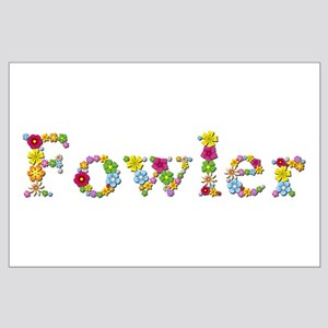 Fowler Bright Flowers Large Poster