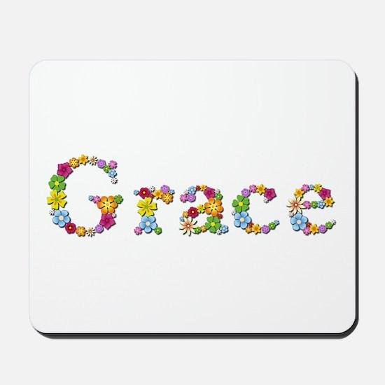 Grace Bright Flowers Mousepad