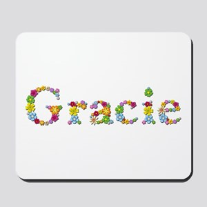 Gracie Bright Flowers Mousepad