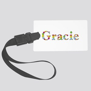 Gracie Bright Flowers Large Luggage Tag
