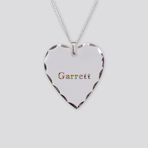 Garrett Bright Flowers Heart Necklace
