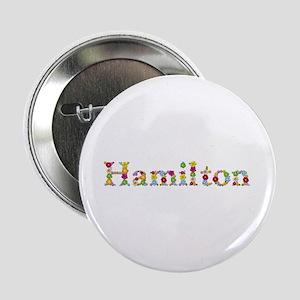 Hamilton Bright Flowers Button
