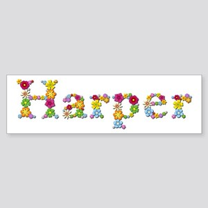 Harper Bright Flowers Bumper Sticker