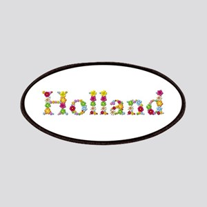 Holland Bright Flowers Patch