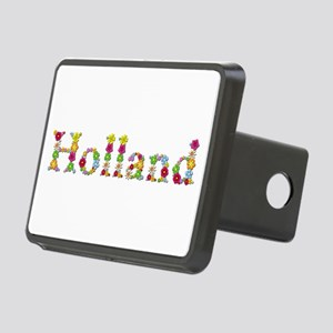 Holland Bright Flowers Rectangular Hitch Cover