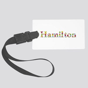 Hamilton Bright Flowers Large Luggage Tag
