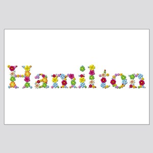 Hamilton Bright Flowers Large Poster