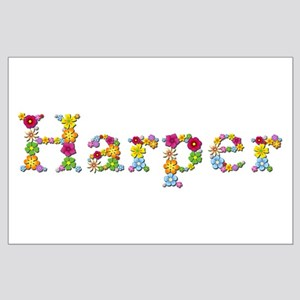 Harper Bright Flowers Large Poster
