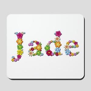 Jade Bright Flowers Mousepad