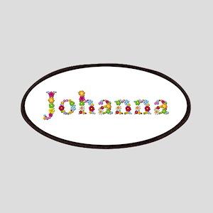 Johanna Bright Flowers Patch