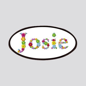 Josie Bright Flowers Patch