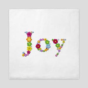 Joy Bright Flowers Queen Duvet