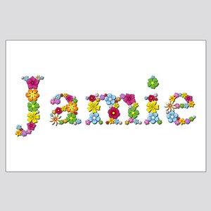 Jamie Bright Flowers Large Poster