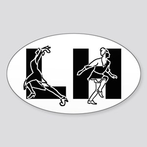 Lindy Hop - Dancers Sticker