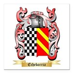 Echebarria Square Car Magnet 3