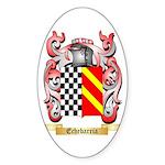 Echebarria Sticker (Oval)