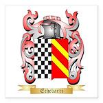 Echebarri Square Car Magnet 3
