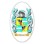 Ebner Sticker (Oval 50 pk)