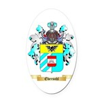 Ebersohl Oval Car Magnet