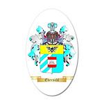 Ebersohl 35x21 Oval Wall Decal