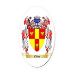 Ebbs Oval Car Magnet