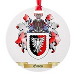 Eaves Round Ornament