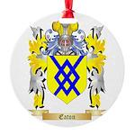 Eaton Round Ornament