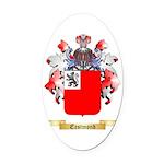 Eastmond Oval Car Magnet