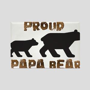 Proud Papa Bear Magnets