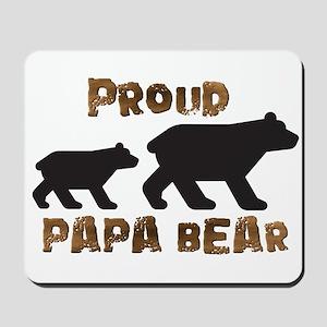 Proud Papa Bear Mousepad