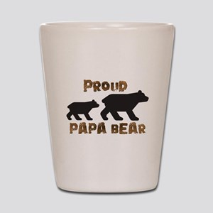 Proud Papa Bear Shot Glass