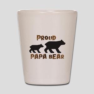 Proud Papa Bear Shot Glass