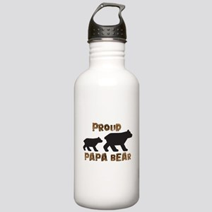 Proud Papa Bear Water Bottle