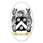 East Sticker (Oval)