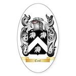 East Sticker (Oval 50 pk)