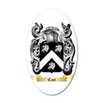 East 35x21 Oval Wall Decal