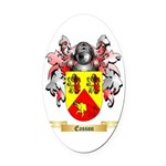 Easson Oval Car Magnet