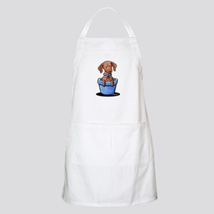 KiniArt Potted Doxie Apron