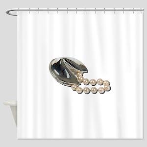 FortuneCookiePearls082111 Shower Curtain