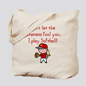 Softball Girl Tote Bag