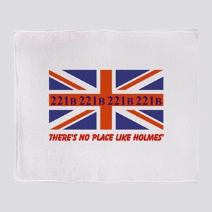 No Place Like Holme... Throw Blanket